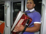 Serenaded on the Metro